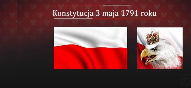 230. rocznica uchwalenia Konstytucji 3 Maja – pierwszej w Europie i drugiej na świecie spisanej konstytucji
